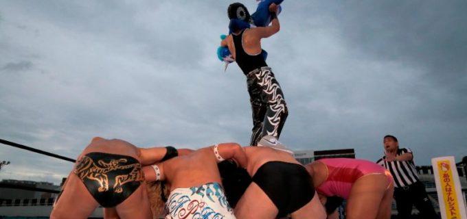 【DDT】10代プロジェクトの2人が躍動!13歳のエル・ユニコーンが18歳のイルシオンに勝利