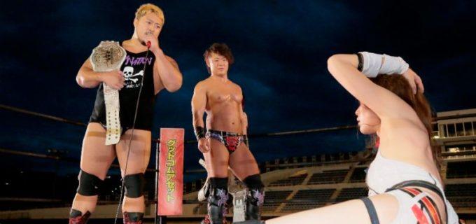 【DDT】赤井沙希、KO-D6人タッグ王者・火野裕士に玉砕も「オマエはホンモノのプロレスラーや!」と認めさせる