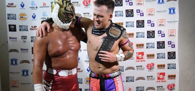 【新日本】全勝対決は鷲虎コンビがデスペ&金丸を破り3連勝!イーグルスはヒロムを挑発「話があるなら来たらどうだ」『SJTL 2021』