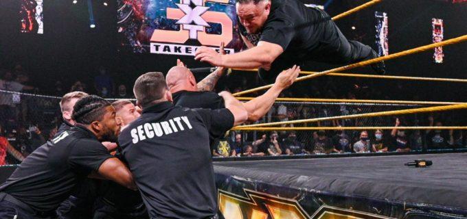 【WWE】王者カリオン・クロスとサモア・ジョーが「NXTテイクオーバー36」を前に大乱闘