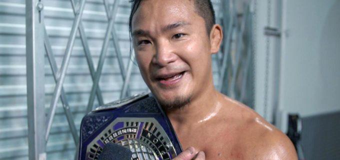 【WWE】NXTクルーザー級王者KUSHIDAとダイヤモンド・マインが王座をかけて抗争