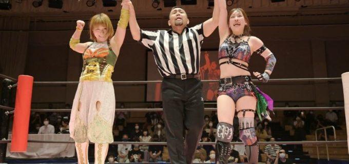 【東京女子】米国の大手団体AEWから帰国の坂崎ユカが凱旋勝利「帰ってきたら、みんなたくましくなってるな」