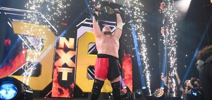 【WWE】サモア・ジョーがカリオン・クロスを撃破して新NXT王者に