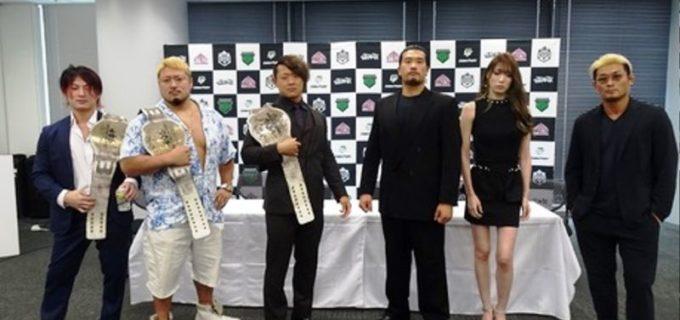 【DDT】赤井沙希がKO-D6人タッグ戦で火野裕士に覚悟のチョップ要求も「ええ女なんやから、リングをさっさと降りて!」と言い返される