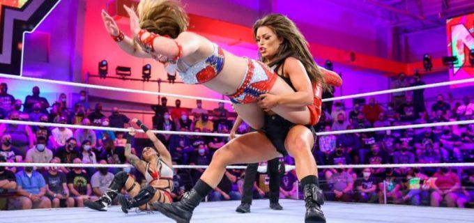 """【WWE】""""太陽の戦士""""サレイが強豪マンディ・ローズとの6人タッグ戦に敗戦も「まだ終わっていない!」"""