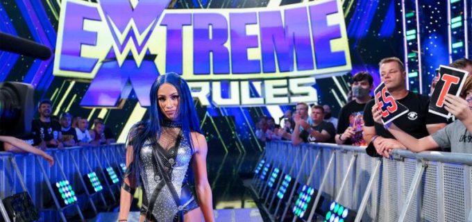 """【WWE】""""ボス""""サーシャがSD女子王座戦に乱入!ベッキーとビアンカをバックスタバー葬"""