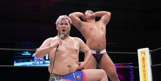 【DDT】ディーノ&飯野のフェロモンズがKO-Dタッグ王座獲りに視界良好!?で増殖を予告