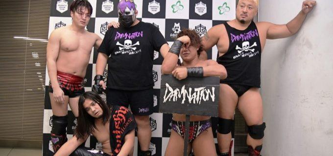 【DDT】ダムネーションが「負け残り8人タッグトーナメント」でよもやの敗退を喫し解散!佐々木大輔「9月でキッパリ解散してやるよ!」