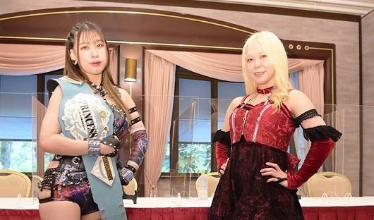 【東京女子】10・9大田区でインターナショナル・プリンセス王座を争う乃蒼ヒカリと愛野ユキがともに勝利宣言!
