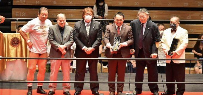 【日本プロレス殿堂会】ジャイアント馬場、ジャンボ鶴田、長州力が殿堂入り!長州「後を継ぐ選手たちの少しでも役に立てたら」