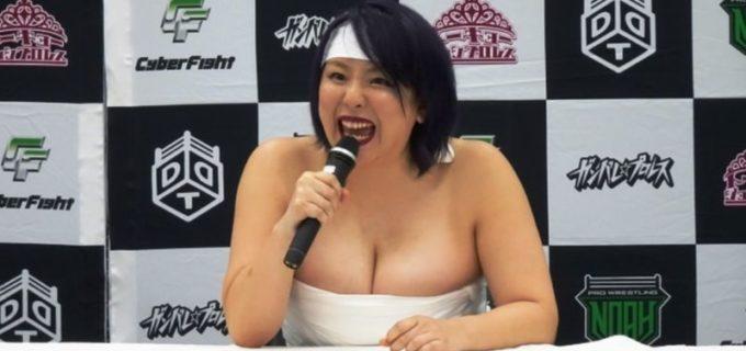 【DDT】9.12福岡で一騎打ち!まなせゆうな「SNSで宣伝しているのは私だ」赤井沙希「私、フォロワーあなたの倍あるから」