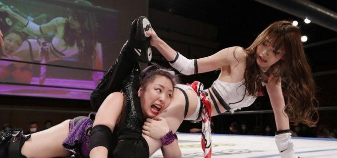 【DDT】赤井沙希、ガンジョのまなせゆうなに勝利するもついに認めた!「もっと暑苦しくなってパワーアップしたら、またシングルやってあげてもええ」