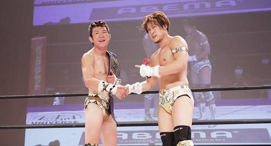 【DDT】平田一喜になりきった青木真也が変則ルールマッチで平田の得意技でEXTREME王座防衛!