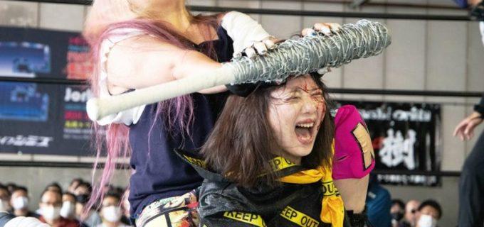 【FMW-E】「女子電流爆破プリンセス・トーナメント」でミス・モンゴルが杏ちゃむ降し準決勝に進出「どんな形でも爪跡を残していきたい」