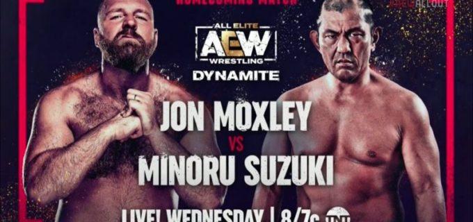 【AEW】9.8 ダイナマイト 鈴木みのるにモクスリーがパラダイムシフト!ルビー・ソーホーがジェイミー・ヘイターに勝利