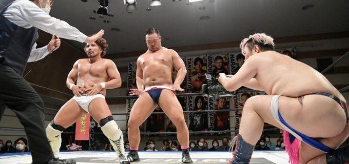 【DDT】今成夢人が加入したフェロモンズの猛威止まらず!ゴリ押しでKO-D6人タッグ王座決定戦に出場へ