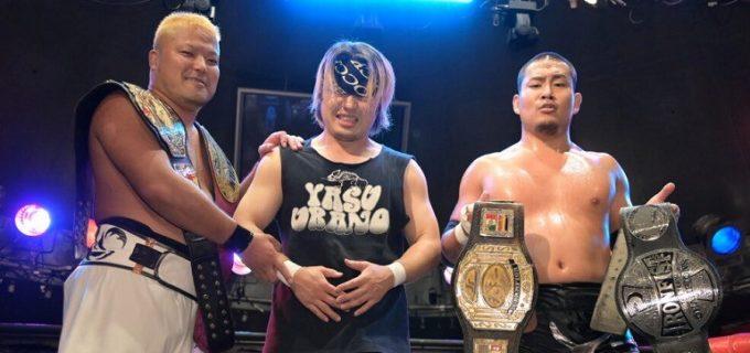【BASARA】9月20日(月祝)千葉大会にてUWA世界6人タッグ選手権が決定!