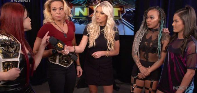 【WWE】NXT女子タッグ王者紫雷イオが次週のNXTで初防衛戦「私たちが勝つ」