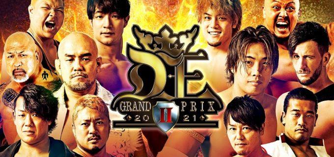 【DDT】11.6横浜~12.5後楽園『D王 GRAND PRIX 2021 Ⅱ』公式リーグ戦決定カード!