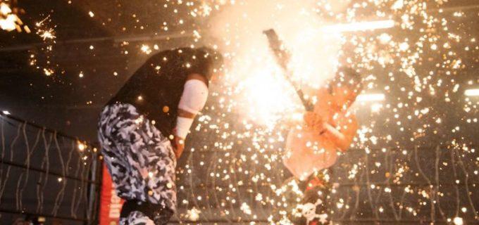 【FMW-E】大仁田厚が新極悪大王に雪辱果たすもMポーゴとA・小林がナゾの合体か?10・31には米国本土での電流爆破デスマッチが実現へ