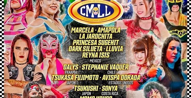 【CMLL】メキシコ入りした藤本つかさ、春輝つくし、向後桃の決定参戦日程