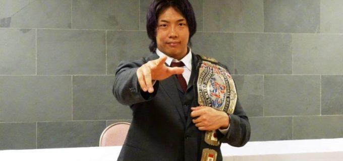 【DDT】竹下幸之介が「D王GP」無敗での優勝宣言「チャンピオンとしてシングルのリーグ戦に出る以上、1敗もできない」