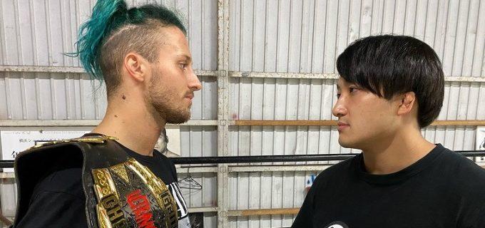 【大日本】ドリュー・パーカー、石川勇希が9.23後楽園大会でのGCWウルトラバイオレント選手権に向けてコメント