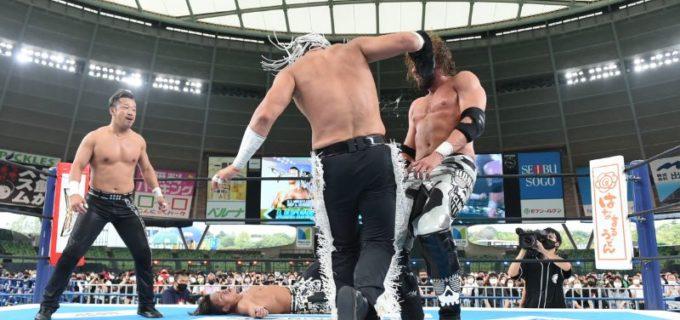 【新日本】疑惑の右足を手にしたデスペラードがファンタズモをKOしIWGPジュニアタッグ奪還!9.5『WGS in MetLife Dome』