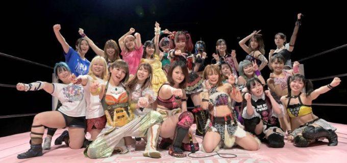 【東京女子】10・9大田区大会を前に全選手が決起!マジラビはプリンセスタッグ王座奪還を誓う