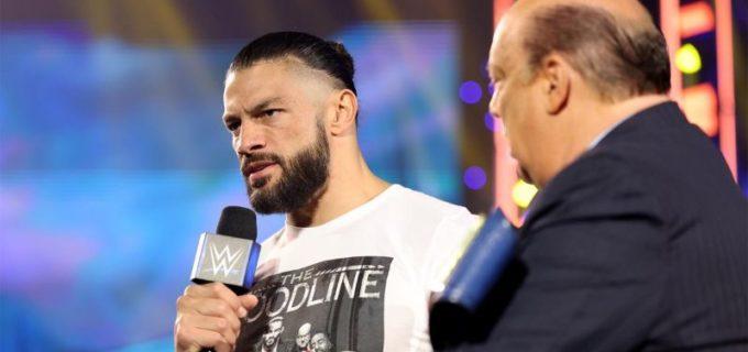 【WWE】ローマン・レインズがPPV「クラウン・ジュエル」を前に語る