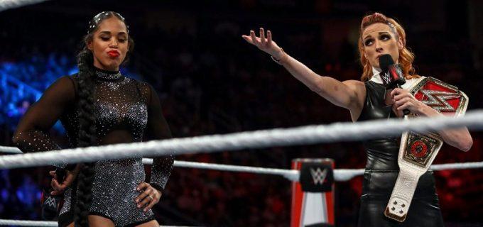 【WWE】王者ベッキーがビアンカの王座挑戦を受諾「試合をしたいならやってやる!」
