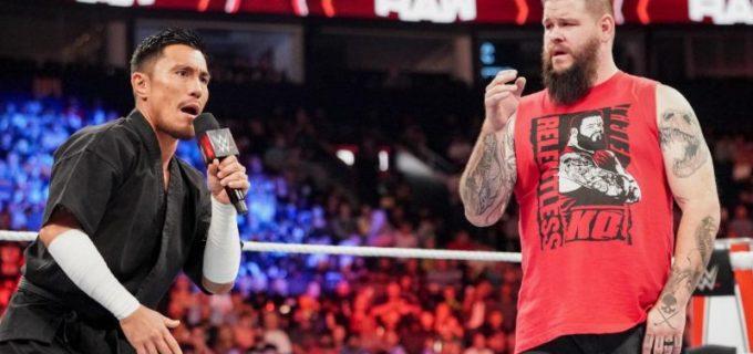 "【WWE】""忍者""戸澤陽が24/7王座戦を要求もオーエンズのスタナーで撃沈"