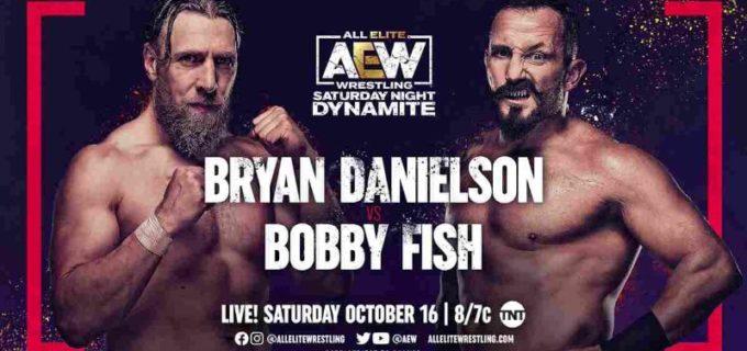 【AEW】10.16 ダイナマイト みのるとの激戦を制したダニエルソンがボビー・フィッシュにも快勝