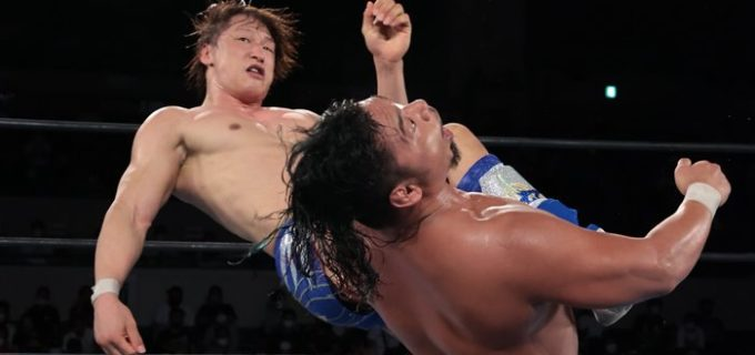 【新日本】飯伏が現IWGP世界王者・鷹木を熱闘撃破!「次、そのベルト返してもらおうか」10.3名古屋大会<G1 CLIMAX31>