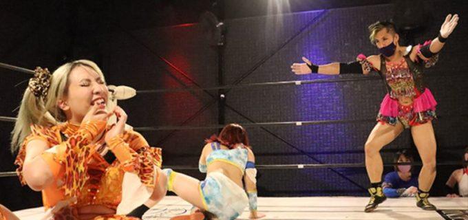 【アイスリボン】ハム子がバニーに勝利!雪妃といぶきが引き分ける!10月生まれコスチェンマッチ開催!10.23 アイスリボン1153