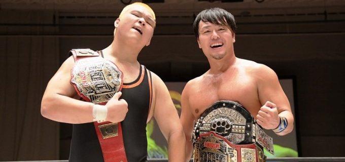 【DDT】吉村直巳が故障から完全復活!兄貴分HARASHIMAとのコンビでKO-Dタッグ王座を奪取し、無差別級王者・竹下幸之介にも宣戦布告