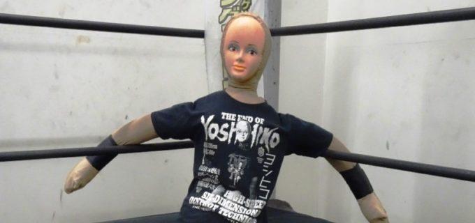"【DDT】10・12後楽園で平田一喜と一騎打ちを行う""バトルドール""ヨシヒコの狙いやいかに!?"