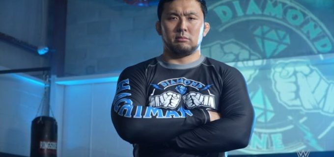 【WWE】NXTを席巻するダイヤモンド・マインのハチマンが呼びかけ「我々から目を離さないように」