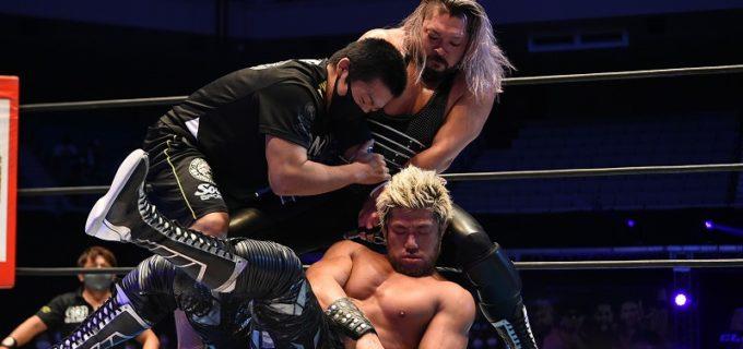 【新日本】最後までダーティーファイトのEVILがSANADAに勝利!「オイ、これが現実だ」<G1 CLIMAX31>10・20日本武道館大会