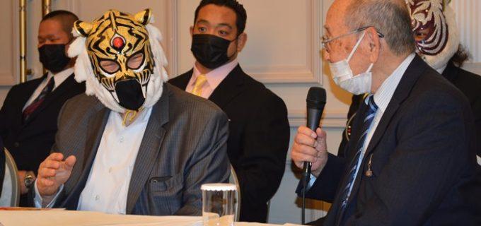 【ストロングスタイルプロレス】新間寿会長が初代タイガーマスクの復帰を懇願!初代タイガーマスク40周年記念第3弾<10・21後楽園ホール大会>