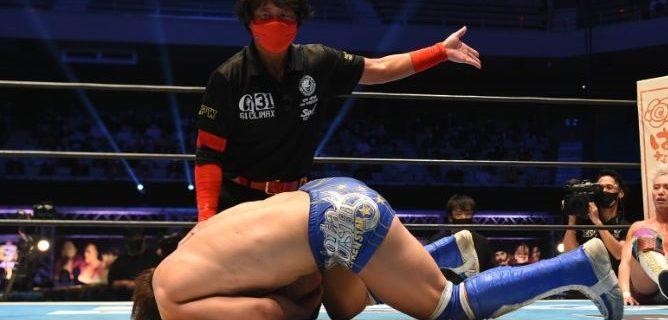 【新日本】『G1』優勝決定戦で無念のレフェリーストップの飯伏幸太が「右肩関節前方脱臼骨折」及び「関節唇損傷」と診断され全治2ヶ月