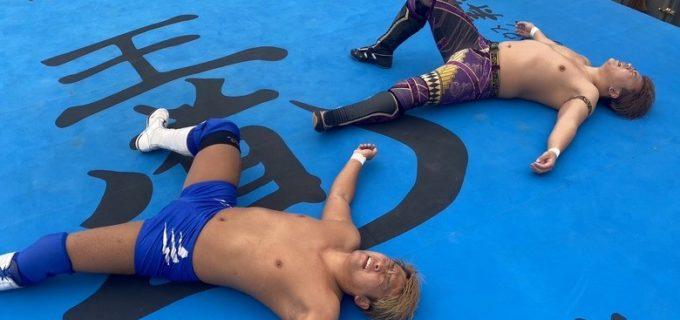 【ZERO1】ジュニア2冠挑戦の馬場拓海と北村彰基が無観客試合でお互いの気持ちをぶつけ合う!