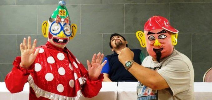 【DDT】くいしんぼう仮面VS菊タローの名物カードが10・17大阪で実現も、これが最後の対決?